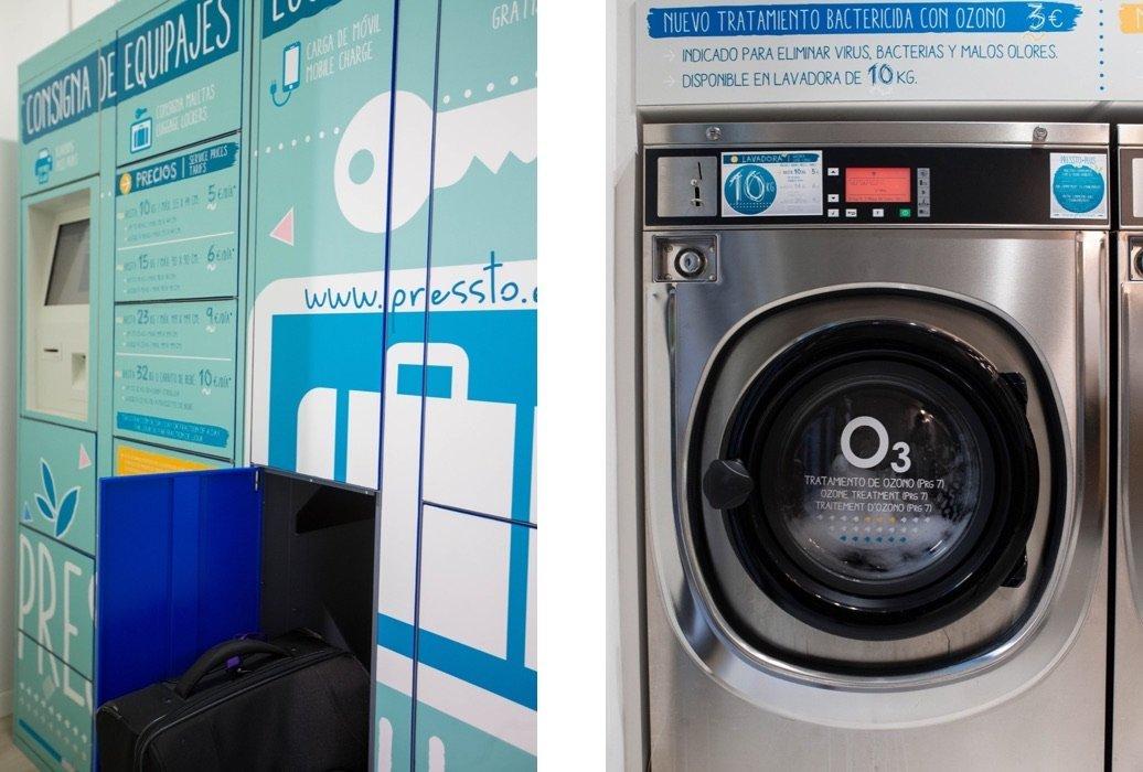 Pressto + Plus, lavandería automática y mucho más
